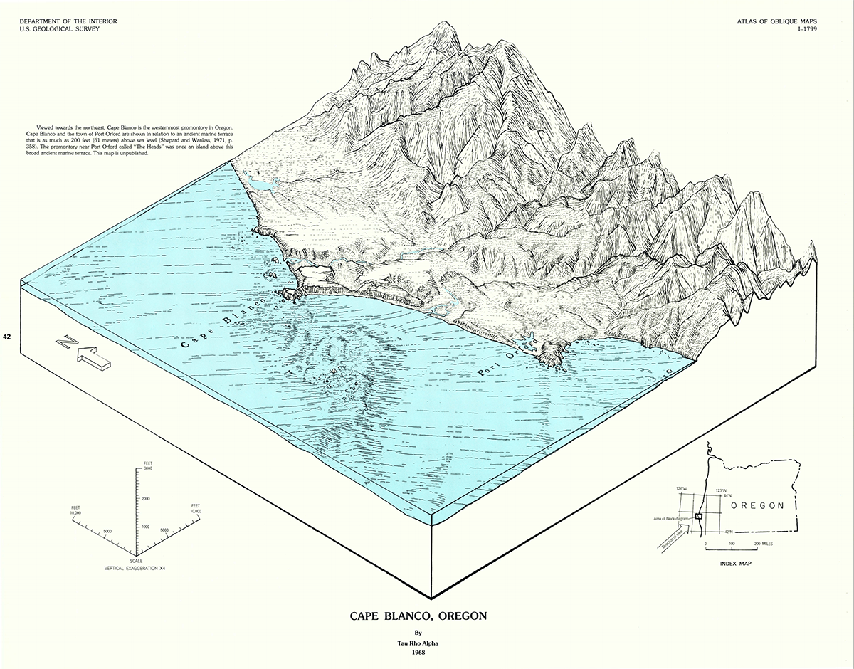 Atlas of Oblique Maps illustration